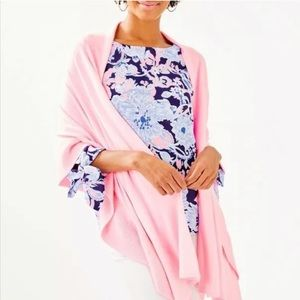 Lilly Pulitzer Marcelle Wrap - Pink Tropics Print
